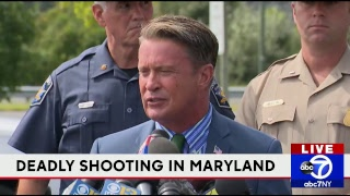 LIVE: Update on deadly shooting in Maryland