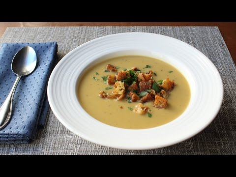 Tuscan Bean Soup Recipe - How to Make Bean & Crispy Bread Soup