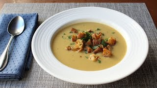 Tuscan Bean Soup Recipe - How to Make Bean & Crispy Bread Soup
