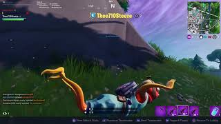 gliding on stomach in fortnite