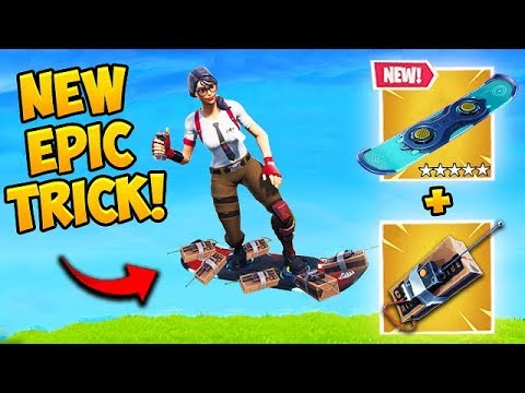 *SUPER OP* DRIFTBOARD TRICK! - Fortnite Funny Fails and WTF Moments! #476 thumbnail