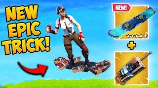 *SUPER OP* DRIFTBOARD TRICK! - Fortnite Funny Fails and WTF Moments! #476