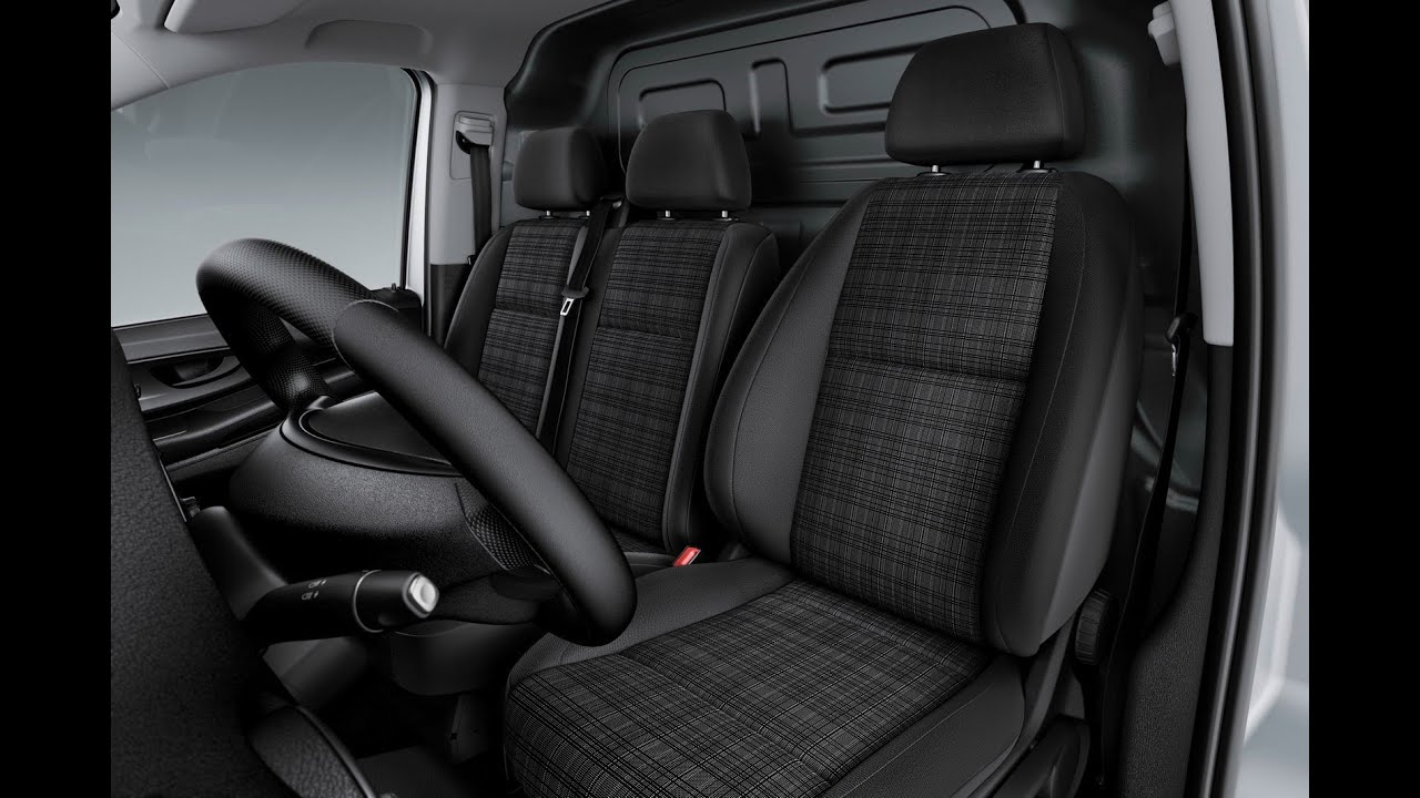 New Mercedes Vito 2015 Interior (29 Photos) - YouTube