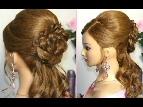Романтические причёски на длинные волосы фото