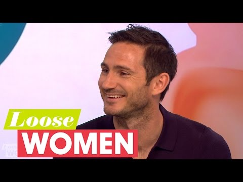 Frank Lampard On His Wedding Plans | Loose Women