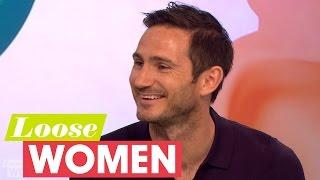 Frank Lampard On His Wedding Plans | Loose Women