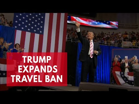 Why have Chad, Venezuela and North Korea been added to Trump's travel ban?