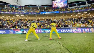 The Super Champions Celebrations   Whistles, Dance and Cheers