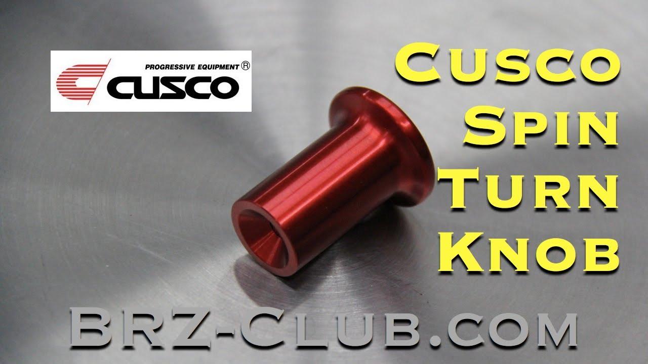Scion FR-S Toyota 86 Cusco Spin Turn Knob Red Subaru BRZ