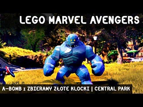 ZAGRAJMY W LEGO MARVEL AVENGERS | A-BOMB i ZBIERAMY ZŁOTE KLOCKI | CENTRAL PARK
