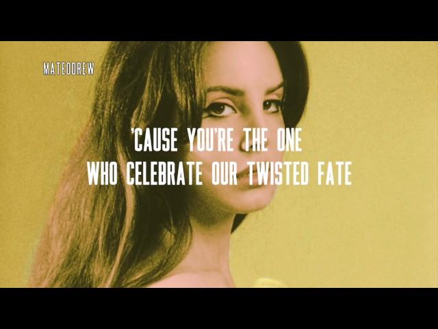 Lana Del Rey - Queen of Disaster Lyrics