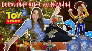 DECORE MI ÁRBOL DE NAVIDAD CON JUGUETES DE TOY STORY!!!