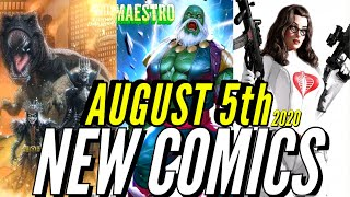 NEW COMIC BOOKS RELEASING AUGUST 5th 2020 MARVEL COMICS & DC COMICS PREVIEWS COMING OUT THIS WEEK