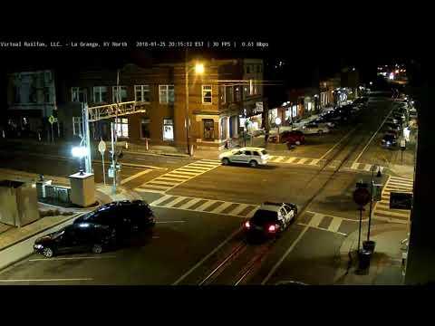 Police Car Hit & Run - La Grange, KY.