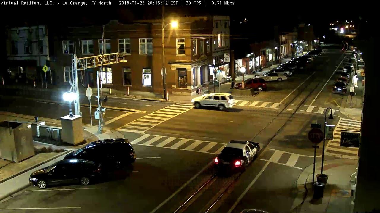 Police Car Hit & Run - La Grange, KY