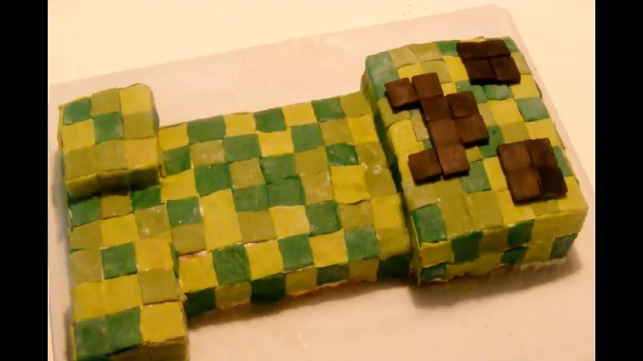 minecraft torte aus milchschnitten selber machen youtube. Black Bedroom Furniture Sets. Home Design Ideas
