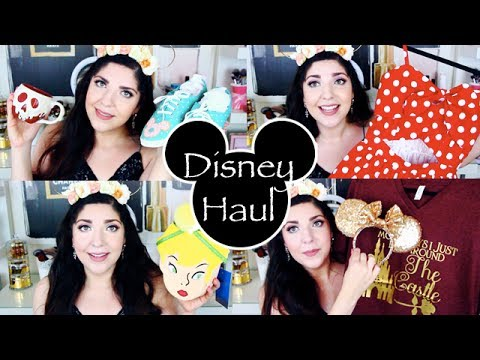 Disney Haul 2017 | Ears, Pins, Clothing & More!