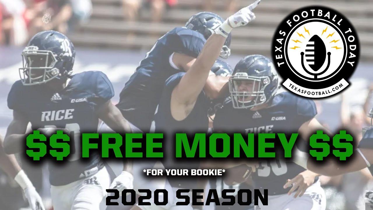free college football betting picks week