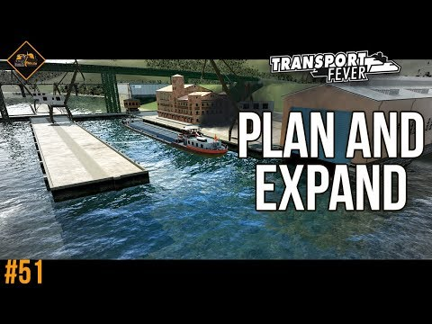 Planning and expansion in Transport Fever gameplay series The Alps #51
