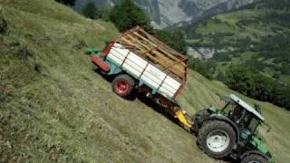Landmaschinen Steer Drive Trailer