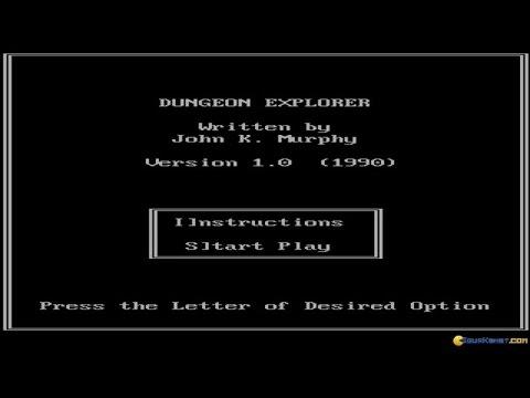 Dungeon Explorer gameplay (PC Game, 1990) thumbnail