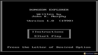 Dungeon Explorer gameplay (PC Game, 1990)