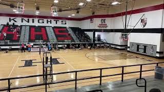 Hanks Volleyball Freshmen Live!