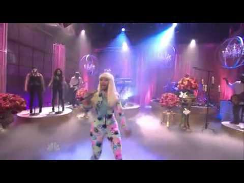 Nicki Minaj - Moment 4 Life (Jay Leno Live)