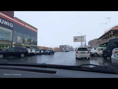 Дорога от Спитакского перевала до армянского алфавита