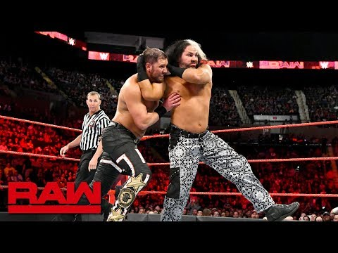 """Woken"" Matt Hardy & Bray Wyatt vs. Curtis Axel & Bo Dallas: Raw, May 7, 2018"