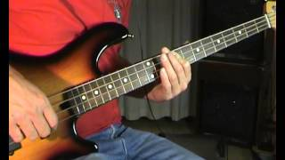 Thunderclap Newman - Something In The Air - Bass Cover