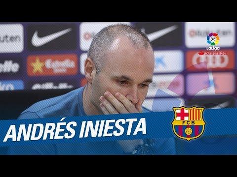 """Andrés Iniesta: """"Ha sido un sueño hecho realidad"""""""