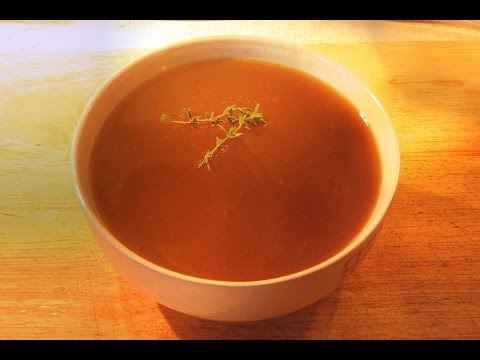 Rich Lamb Broth Recipe For Stock Or As Soup Youtube
