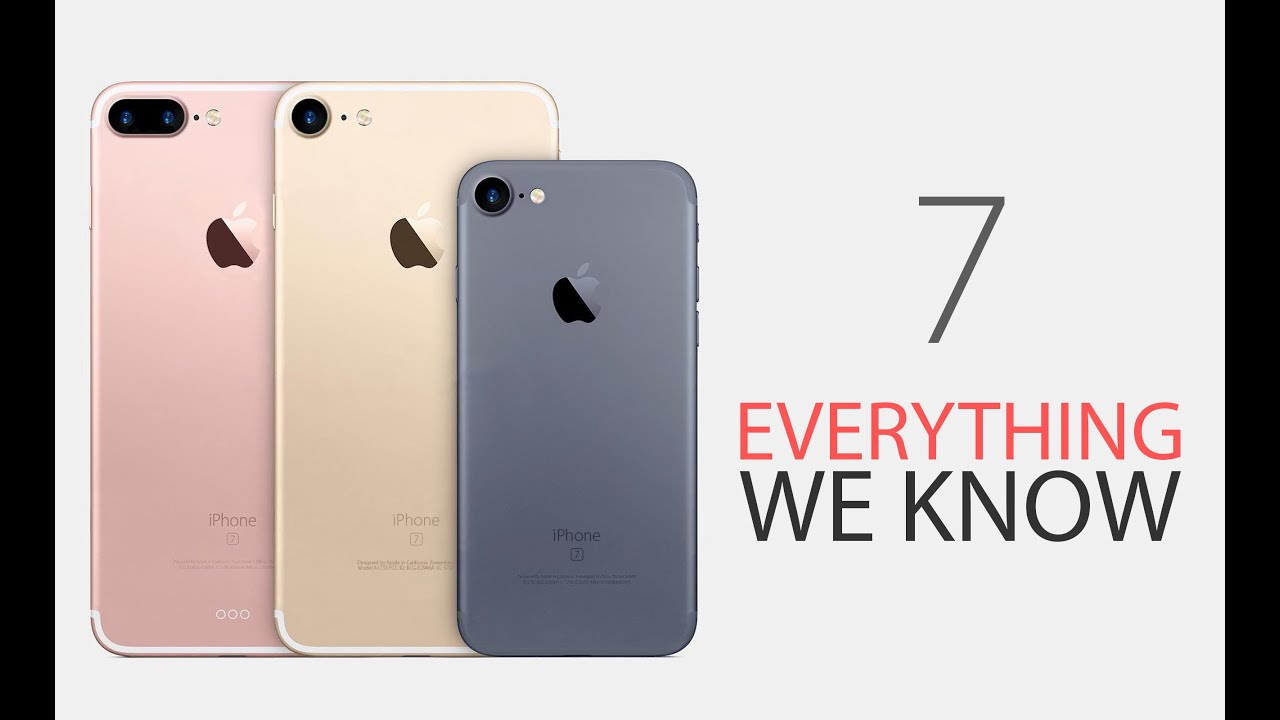 Image result for iPhone 7 - Everything you Need to Know