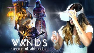 Wands released the update Sanctum of Sahir today including a new wo...
