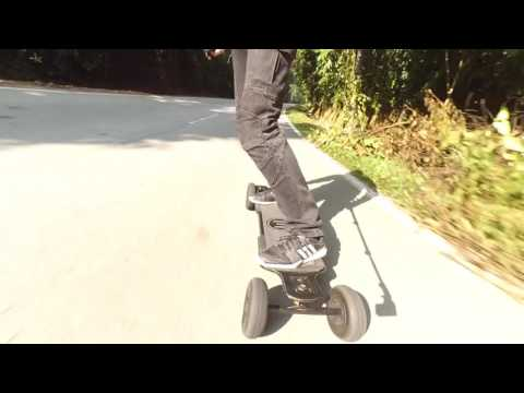 Unedited: Evolve Carbon GT AT Electric Skateboard