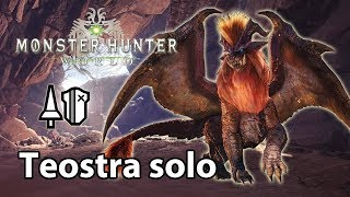 MHWorld | Teostra solo (Lance) - 3'50