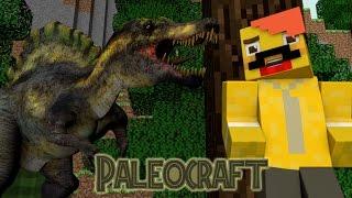 마크에 스피노사우루스도?! / 모드 리뷰 / [ 마인크래프트 팔레오크래프트 모드!! ] Minecraft Paleocraft Mod!!