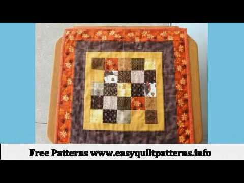New Fall Quilt Patterns Small Quilting Projects Youtube