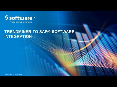 TrendMiner to SAP® software Integration