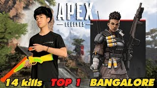 CrisDevilGamer TOP 1 APEX LEGENDS BANGALORE 14 KILLS