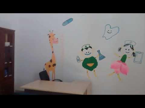 Vẽ tranh tường phòng y tế mầm non 21 phạm ngọc thach Q.3_lh vẽ 0976.476.894