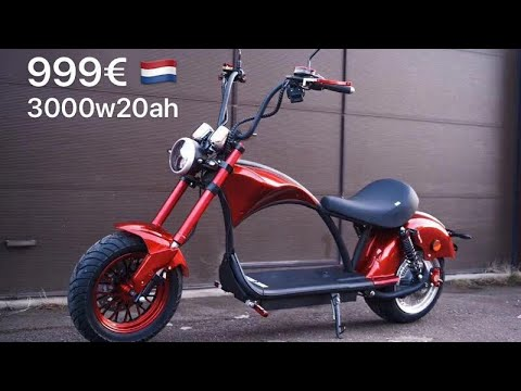 Citycoco electric scooter Rooder super chopper r804 m1 with EEC COC 25km/h 45km/h and 60km/h