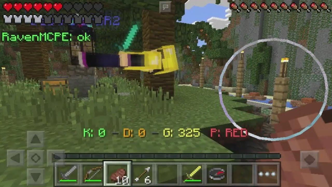 LBSG New Server BOUNTY HUNTER Minecraft Pe New Kind Of - Minecraft pe spielen gratis