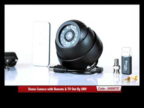 Dome Camera with Remote & TV Out By UNV