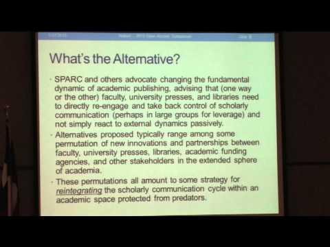 2013 UNT Open Access Symposium, Part 16