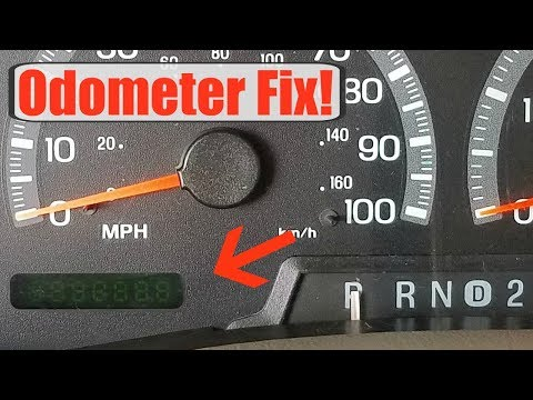 Odometer Fix / Remove Gauge Cluster On 1997-2003 Ford F150