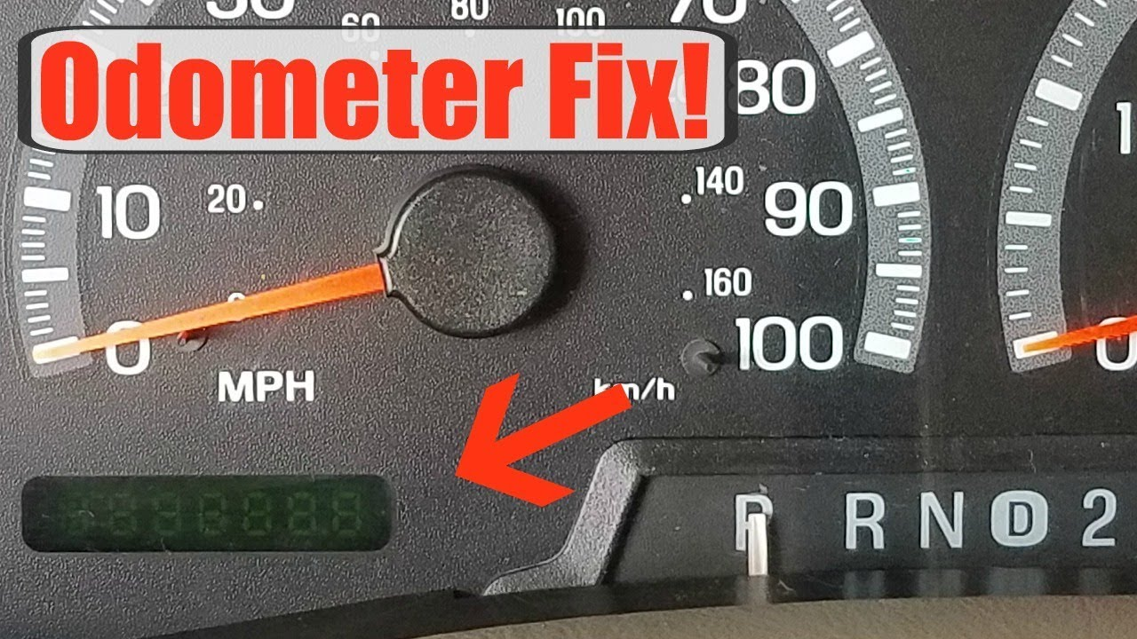 Odometer Fix Remove Gauge Cer On 1997 2003 Ford F150