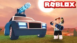 BAZUKA VE BOMBALAR !! - Crime Boss Roblox Jailbreak