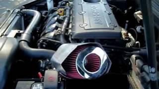 2009 Hyundai Sonata Intake Sound Comparison - Stock Sound vs AFM Intake
